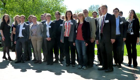 Foto, Crowdfunding-Konferenz im IfM Bonn