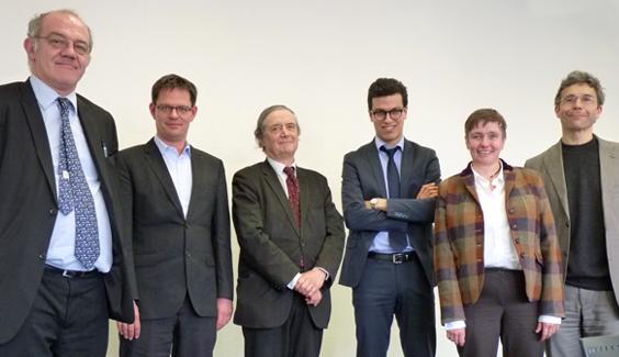 Foto, Französische Delegation